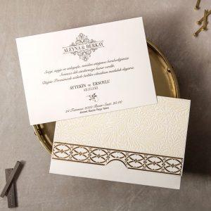 Wedding Davetiye 8378