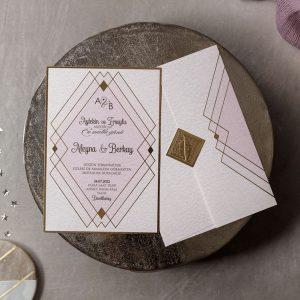 Wedding Davetiye 8384
