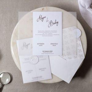 Wedding Davetiye 8398