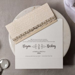 Wedding Davetiye 8454