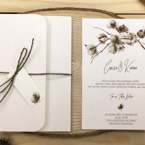 Flora Davetiye 62342